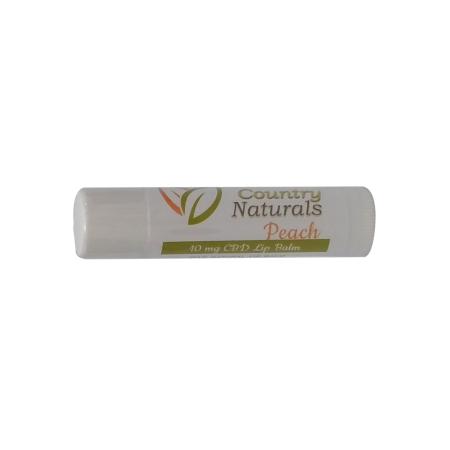 10mg Full Spectrum Peach Lip Balm Stick