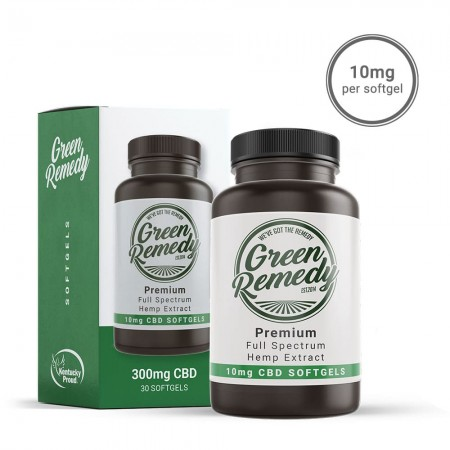 10mg CBD Full Spectrum Softgels