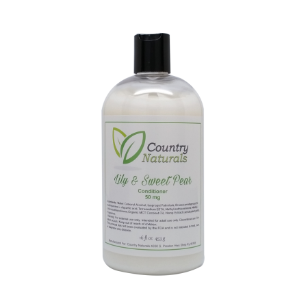 Lily and Sweet Pear CBD Conditioner